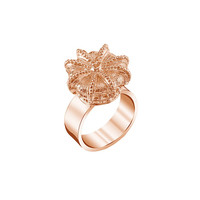 La Corona Rose Gold Ring