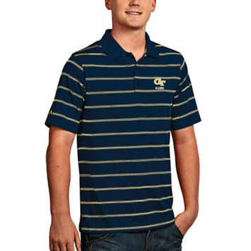 Georgia Tech Yellow Jackets Antigua Deluxe Alumni Polo – Navy Blue