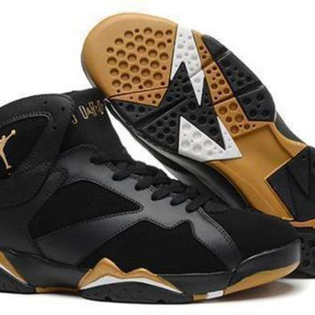 Cheap Air Jordan 7 Retro Men Shoes Olympic Gold Medal
