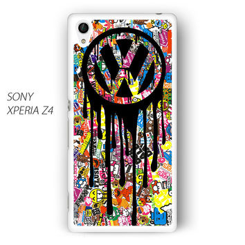 VW Volkswagen Bomb Sticker for Sony Xperia Z1/Z2/Z3 phone case