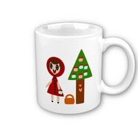 Little Red Riding Hood and the Cupcake Tree Mug from Zazzle.com