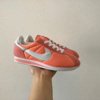 """Nike Cortez"" Women Sport Casual Cloth Surface Running Shoes Retro Fashion Sneakers"