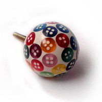 Buttons Drawer Knobs