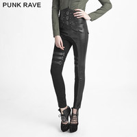 Aliexpress.com : Buy Punk Gothic Rock high waist pants Gothic sexy women Unifom steampunk trousers from Reliable high waist pants suppliers on Punk Rave Store