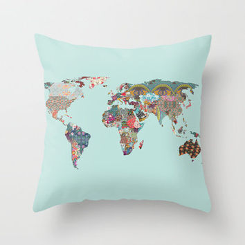 Louis Armstrong told us so Throw Pillow by Bianca Green | Society6