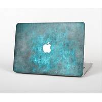 The Grungy Bright Teal Surface Skin Set for the Apple MacBook Air 13""