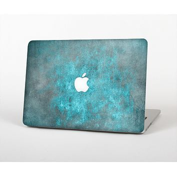 The Grungy Bright Teal Surface Skin Set for the Apple MacBook Pro 13""