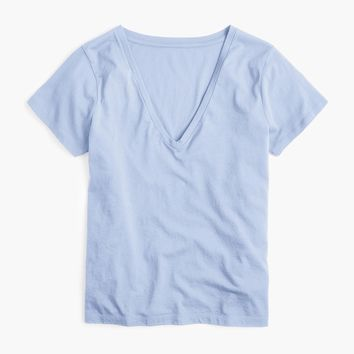 Supersoft Supima® V-neck T-shirt