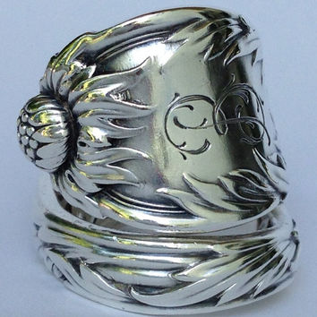 Vintage Tiffany & Co. Sterling Silver Spoon Ring