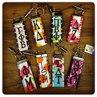 Sorority Fabric Keychain - Urban Petal