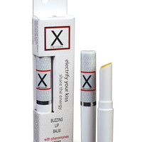 X On The Lips Buzzing Lip Balm W-pheromones