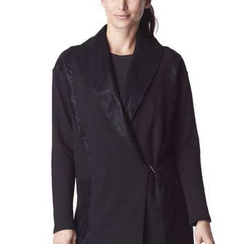 Michi Blade Wrap Jacket - Black