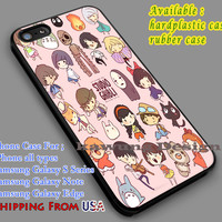 Heroines Studio Ghibli iPhone 6s 6 6s+ 5c 5s Cases Samsung Galaxy s5 s6 Edge+ NOTE 5 4 3 #cartoon #animated #MyNeighborTotoro dl7
