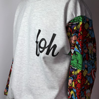MARVEL SWEATER | FOH Apparel