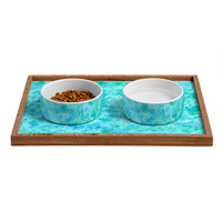 Rosie Brown Sparkling Sea Pet Bowl and Tray