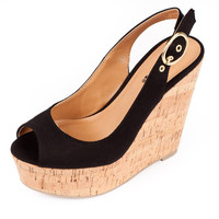 Soda Summer Enrollment Wedge Womens Shoes - High Heels - Flats - Womens Boots - Womens Sandals - Wedges from For Elyse