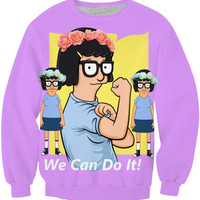 Bob's Burgers Tina Can Do It Sweatshirt