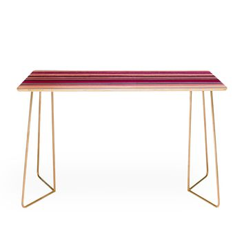 Viviana Gonzalez Painting Stripes 02 Desk