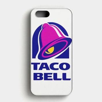 Taco Bell  Tshirt White iPhone SE Case