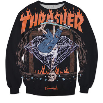 Thrasher Diamond Sweater