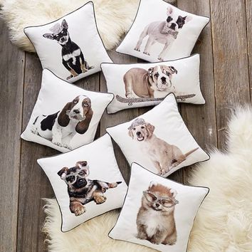 ASPCA Party Dogs Pillow Covers