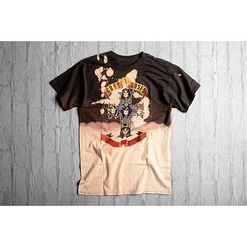 Vintage Wear Guns-N-Roses Cross Tee - Grey