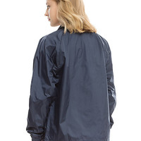 Navy Blue Windbreaker