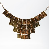 Lux Deluxe Armor Necklace Set - Gold from Jewelry & Accessories at Lucky 21