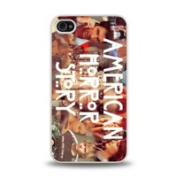 iPhone 4 4S case protective skin cover with American Horror Story poster design #21