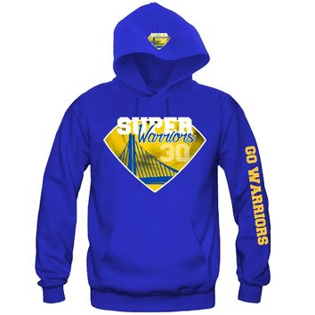 """Super Golden State Warriors Hoodie """"3 Prints"""" Sports Clothing"""