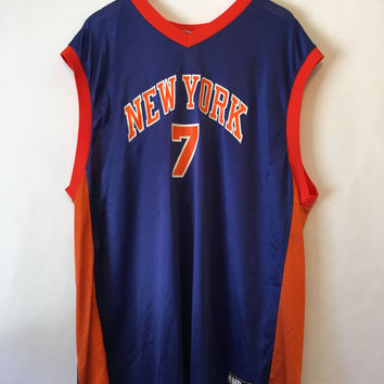 Carmelo Anthony New York Knicks Basketball Jersey Size XXLarge