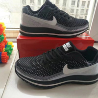 """NIKE"" Fashion Casual Breathable Unisex Air Cushion Sneakers Couple Running Shoes"