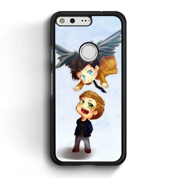 Supernatural Destiel Fanart Google Pixel Case