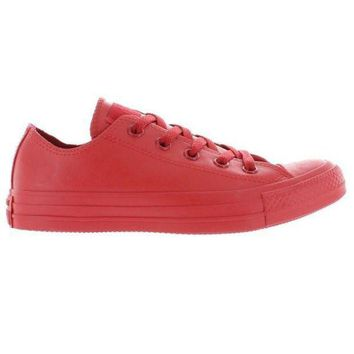 LMFUG7 Converse All Star Rubber Chuck Ox - Red Rubber Low Top Sneaker
