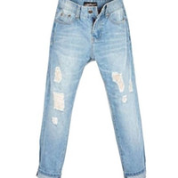 Distressed High Waisted Boyfriend Jeans = 1930231300