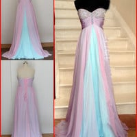 Formal Chiffon Long Prom Dresses Ball Gown Cocktail Party Evening Dresses from Girlsdresses