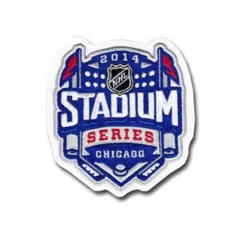 DCCK8X2 2014 NHL Stadium Series Game Logo Jersey Patch (Chicago)