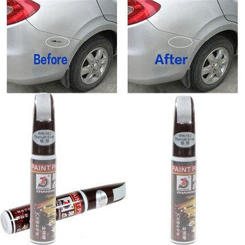 4 Colors 12ml New Professional Car Paint Repair Pen Waterproof Fix It Pro Clear Car Scratch Remover Painting Pens [7735820358]
