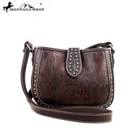 Montana West MW175-8287 Tooling Messenger Handbag