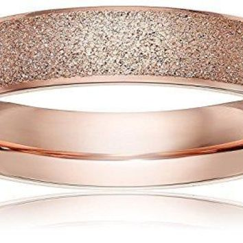 LOVE Beauties Brand New 4mm Women's Titanium Rose Gold Wedding Band Ring (Size Selectable)