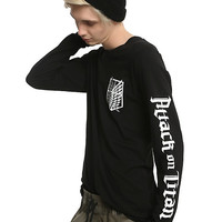 Attack On Titan Scouting Regiment Long-Sleeve T-Shirt