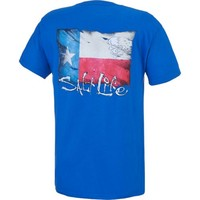 Salt Life Men's Texas Flag Logo T-shirt | Academy
