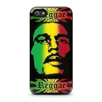 bob marley rasta iphone 5 5s se case cover  number 1