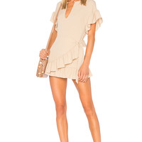 Tularosa x REVOLVE Jenny Dress in Camel | REVOLVE