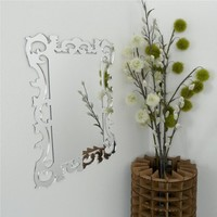 Supermarket - Wall Mount Mirror, Modern Ornate Rococo Design, Acrylic from Revisions Design Studio