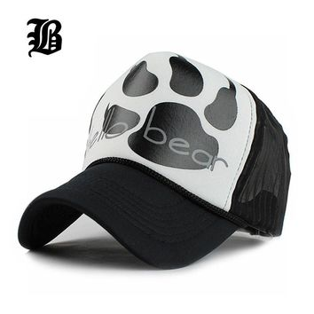 Summer Female Polo Mesh Cap Fitted Trucker Baseball Caps Hats For Women Men Bone Snapb