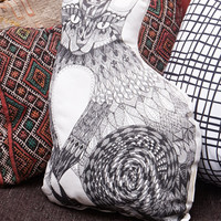 Rise And Fall Cat Pillow