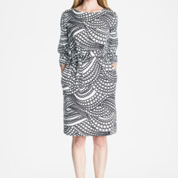 Apparel: Marimekko Kuplahdus dress in white, black | Marimekko Store