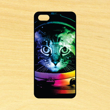 Cat Astronaut Phone Case iPhone 4 / 4s / 5 / 5s / 5c /6 / 6s /6+ Apple Samsung Galaxy S3 / S4 / S5 / S6