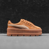 Puma x Fenty WMNS Cleated Creeper Suede - Golden Brown